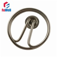 Round Shaped Stainless Steel Heating Tube Element  Electric Water Heater Pipe for Water Heating
