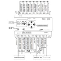 DC/AC 220V Microprocessor Controller Status Display Debugging for 2-5 Floors Elevator Lift