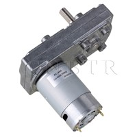 CNBTR 12V 20RPM No-load Speed High Torque Electric Square Gear box Geared Motor