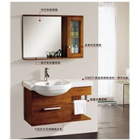 best sale high quality with mirror  Wall Mounted  bathroom vanity 0283-1049