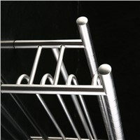Light Space Aluminium Alloy Bathroom Foldable Towel Rack 590mm*190mm*110mm