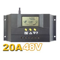 20A 48V CM2048Z Solar Controller PV panel Battery Charge Controller Solar system Home indoor use