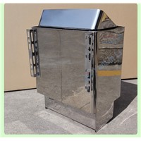 Sauna Stove 9KW Stainless Steel Dry Steam Oven Internal Control With Temperature Control Heating Furnace Sauna Equipment