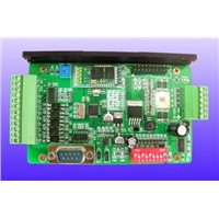 Integrated stepper motor control driver, control drive integration, Bluetooth module optional