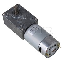 CNBTR  High Power 12V 17RPM Low Speed Electric DC Gear Motor WGM-555 Self Lock CNBTR