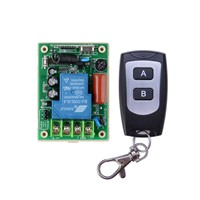 220V 1CH rf wireless controller for home 433mhz wireless remote control switch lighting and remote switch 220v rf control