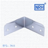 NRH7615 air box package Corner right angle Wrap angle Aluminum box bracket Chrome plated iron