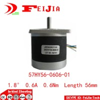 1pcs 57HY56-0606-01 6-lead Nema 23 Stepper Motor 57 motor 0.6A for 3D printer