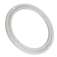 Aluminium Rotating Turntable Bearing Swivel Plate 10 Inch Silver