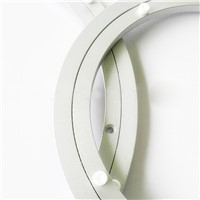 Aluminium Rotating Turntable Bearing Swivel Plate 14 Inch Silver