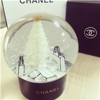 Hot sale High imitation products Valentine 's Day gift crystal ball music box snowflake ball crystal glass ball ornaments