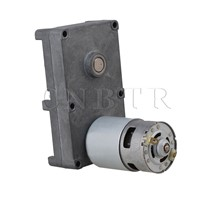 CNBTR Low Speed Electric Geared Motors DC24V 13RPM Metal Gearbox Motor