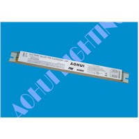 Full Voltage 110-277V-2x49W-T5 Constant Power Electronic Ballasts for T5 Linear Fluorescent Tubes AHTF5249QIA