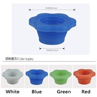 washing machine floor drain pipes parts under pad of silica gel pad deodorant floor drain odor core Under the water pipe deodora