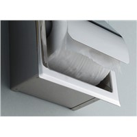Recessed Stainless Steel Bathroom Toilet Roll Paper Holder Tissue Dispenser