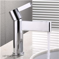 High Quality Single Handle Hot Cold Chrome Bathroom Faucet Water Tap Mixer Brass Basin Faucet