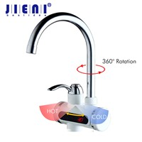 RU Hot Faucet 3sec Instant Tankless Electric Water Heater Faucet Kitchen Instant Hot Water Tap Shower Hot and Cold