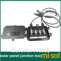 1 PCS of junction box with MC4 connector+ cable, suitable for solar panel 200w to 300w, solar junction box, pv junction box