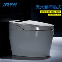 2017 One Piece Filli Basin Basket Led Hot Toilet Bathroom Remote Automatic Flushing Electric Drying Integrated For Intelligent