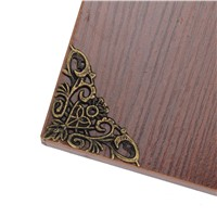20pcs Furniture Decorative Edge Cover Vintage Decor Box Corner Protector