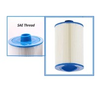 spa filter cartridge 205*150 (or 8'x6') with SAE THREAD 1 1/2' (3.8cm)