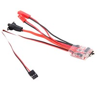 1 Pc Hot Selling RC ESC 20A Brush Motor Speed Controller w/ Brake For RC Car Boat Tank New VEF71 T0.11