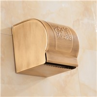 Bathroom Antique bathroom roll paper holder wall paper box holder toilet roll holder bathroom accessories MH85010