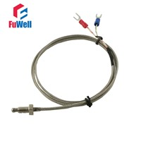 M6 Thread Diameter 1M/2M/3M/4M/5M Wire Type K/E Thermocouple