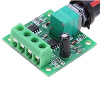 PWM DC motor speed controller 1.8V-15VDC adjustable drive module 30W 2A Low Voltage Motor Adjustable Speed Controller