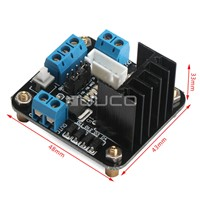 DC 5V~25V Power Supply Module L298N Dual H Bridge DC Stepper Motor Drive Controller Board Module for Arduino Smart Car Robot