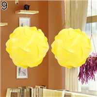 30 Pcs DIY Festival Ceiling Pendant Lamp Shade IQ Jigsaw Puzzle Light Shade 25cm