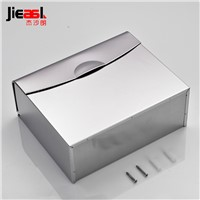 304 Stainless Steel Paper Holder Roll Tissue Holder Hotel Works Toilet Roll Paper Tissue Holder Box Bathroom Accessories