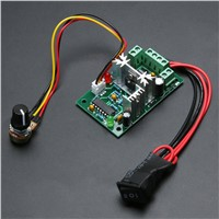 10V12V24V30V 120W PWM  500HZ Adjustable Volt DC Motor Speed Controller CCM2 Overload short Circuit Protection FULI