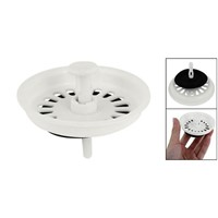 "High Quality Food Waste Stopper SPin Lock SInk DraIn StraIner 3.1"" - Plastic"