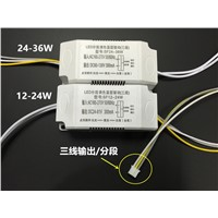LED driver AC 150- 250V 280mA (12 - 24)*2W Power Supply Transformer Ballast + Terminal plug for Absorb Dome Light / Ceiling lamp