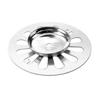 Stainless Steel Round Floor Drain Strainer Cover for Bathroom