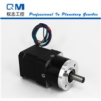 Nema 17 geared stepper motor L=40mm planetary  gearbox ratio 4:1      cnc robot pump