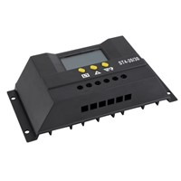 Hot Selling LCD Display Solar Panel Regulator Charge Controller 12V 24V Autoswitch 30A ST4-30