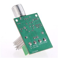 PWM Speed regulator switch with speed control for DC motor DC6V-12V 6-10A