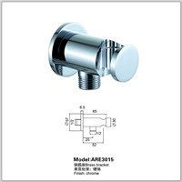 Brass Water Inlet Angle Valve Shower Holder with Hose Connector Wall Elbow Unit Spout Shower Bracket for Shower Head