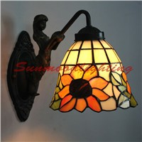Wholesale Tiffany Lighting Bathroom Mirror Front Lamp Villas Hotel Upscale Lobby Lights Wall Lights