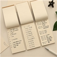 Craft Cover Desk Sticky Planner Sticky Notes Stickers Diary Stamps Post It Paper Korean Stationery Grid/Line/Blank To Do List