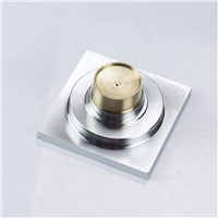 Brass Bathroom Sewer Filter Deodorization Water Outlet Shower Floor Drain