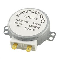 AC 220V-240V 4W 5/6RPM Turntable Synchronous Motor for Microwave Oven 49TYZ-A2