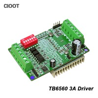 Brand New TB6560 3A Stepper Motor Driver CNC Stepper Motor Board High Speed Single Axis Controller