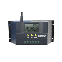 LCD Display CM3024 Solar Panel Battery Charge Regulator Dual USB Controller 12V/24V or Outdoor Environment Monitoring