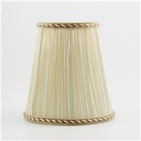 DIA 15.5cm/ 6.10 inch Master Bedroom Bedside Lamp With Fabric Lampshades, modern Wall light lamp shades, E14(Hole 3cm)