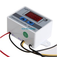 Digital LED Thermometer Temperature Controller AC220V 10A Thermostat Incubator Control Microcomputer Probe Weather Station