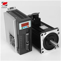 Three Phase Servo Motor Kit CNC 130ST-M15025 Matched Servo Driver 3.8KW 2500rpm Motor Driver
