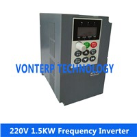 1.5KW 220V single phase input and 220v 3 phase output   ac drive/frequency inverter/Variable freqeuncy drive